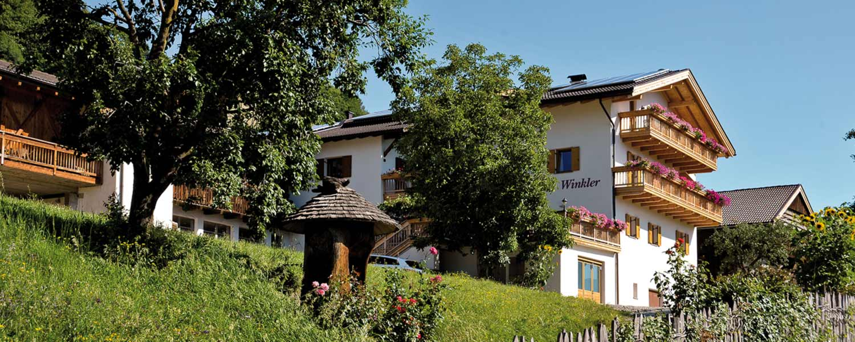 Winkler Hof Urlaub auf dem Bauernhof in Villanders Eisacktal