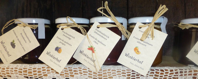 hausgemachte Marmelade vom Bauernhof - natürlich selbstgemacht