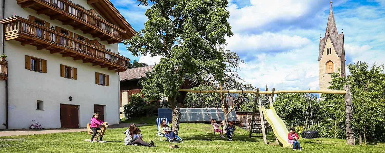 Urlaub auf dem Bauernhof mit Spielplatz