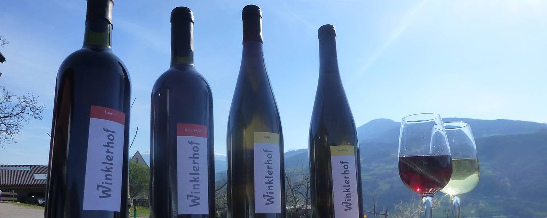 Törggelen und Wein am Winkler Hof